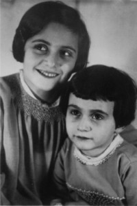 ANNE FRANK AND SISTER IN THIS FILER FOR FEATURE BC FRANK