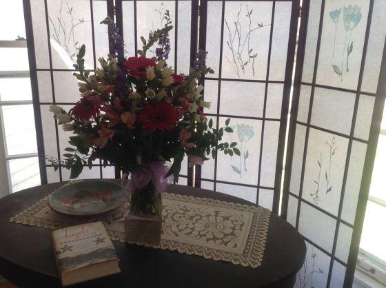 book club flowers